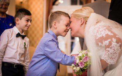 Svatební přípěh Vlasty a Jirky