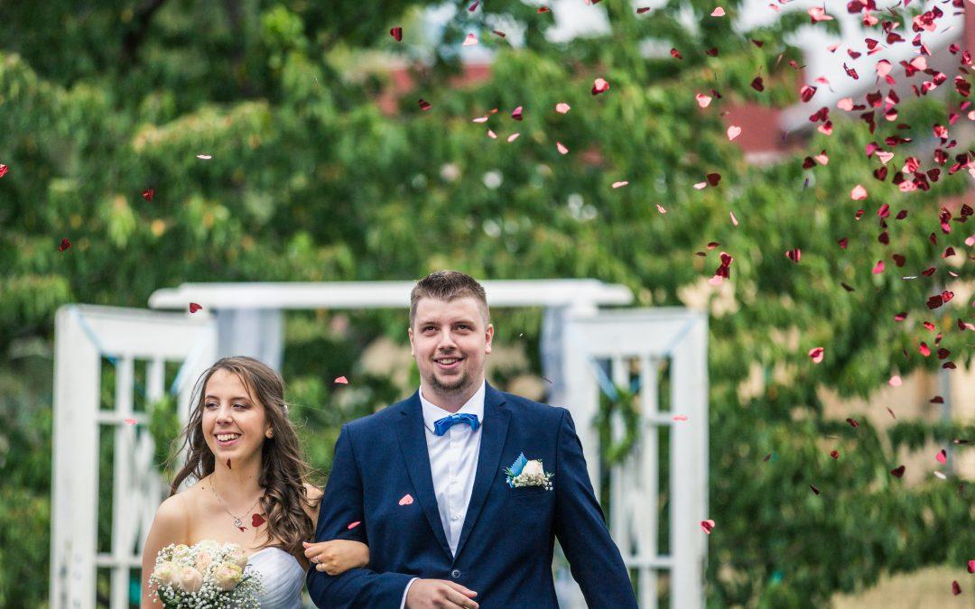 Svatební příběh Šárky a Milana