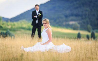 Svatební příběh Niky a Martina