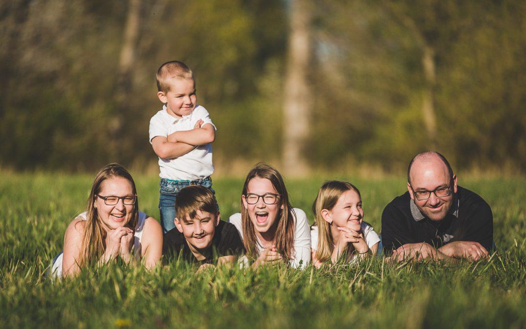Rodinné focení se Zdeňkou a Petrem
