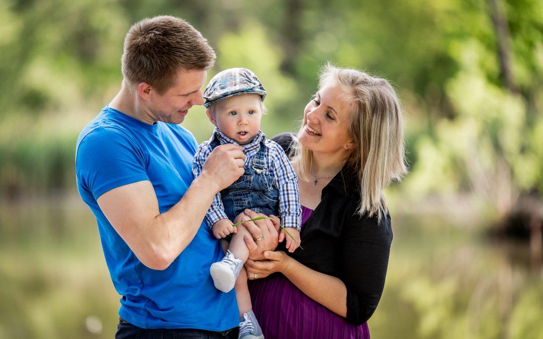 Rodinné focení s Miluškou a Vaškem