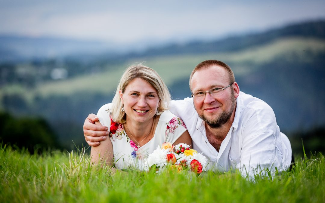 Svatební příběh Lady a Tomáše