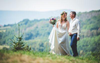 Svatební příběh Niky a Michala