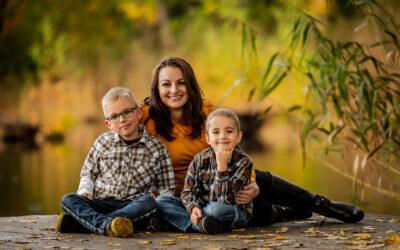 Rodinné focení s Káťou a Milošem