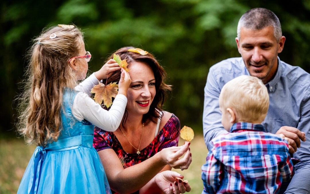Rodinné focení s Kamilou a Lukášem