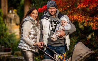 Rodinné focení s Luckou a Jiřím